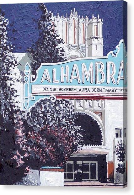 Alhambra Theatre Canvas Print by Paul Guyer