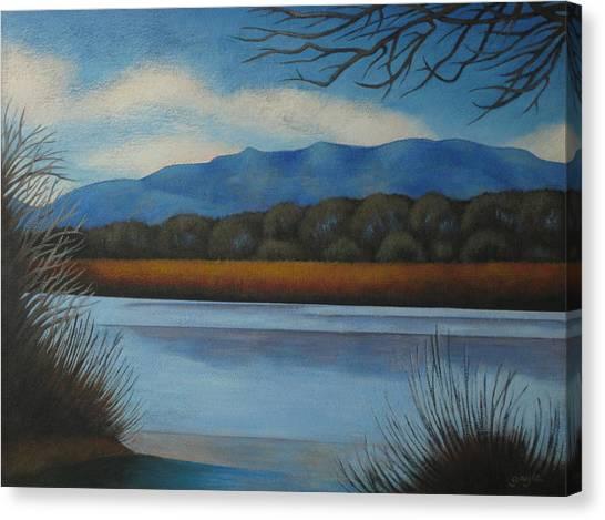 Along The Rio Grande Canvas Print