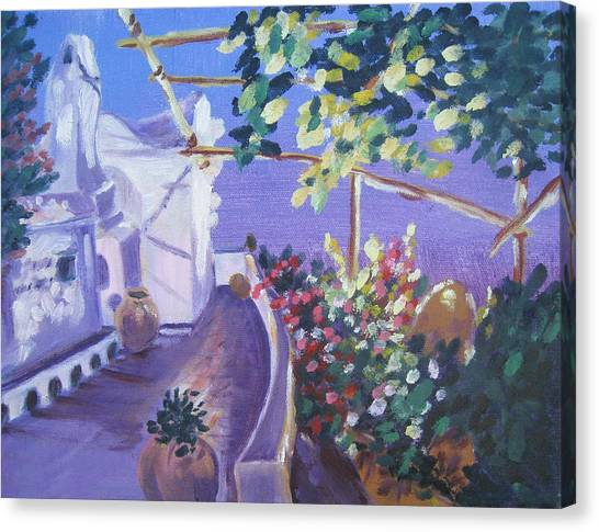 Amalfi Evening Canvas Print