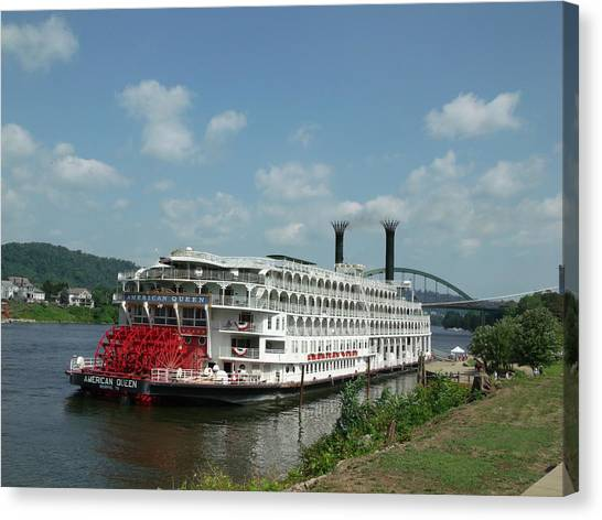 American Queen Canvas Print by Willy  Nelson