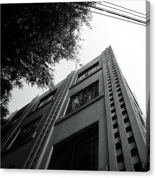 Art Deco Canvas Print - #architecture #facade #art #deco by Joe Giampaoli