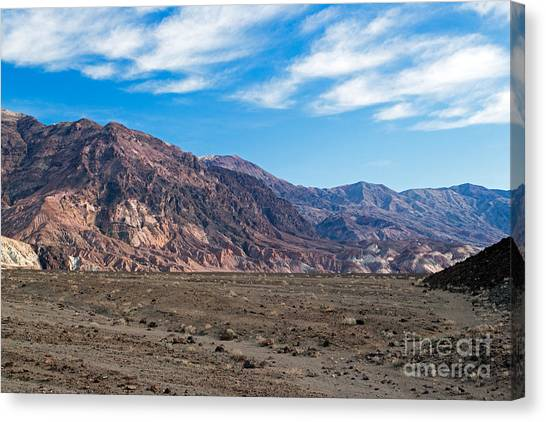 Artist Drive Death Valley National Park Canvas Print