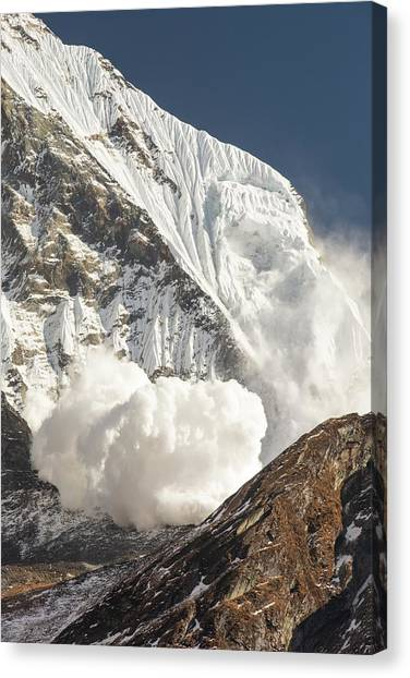 Himalayas Canvas Print - Avalanche by Ashley Cooper