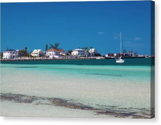 Bahamian Canvas Print - Bahamas, Eleuthera Island, Governors by Walter Bibikow