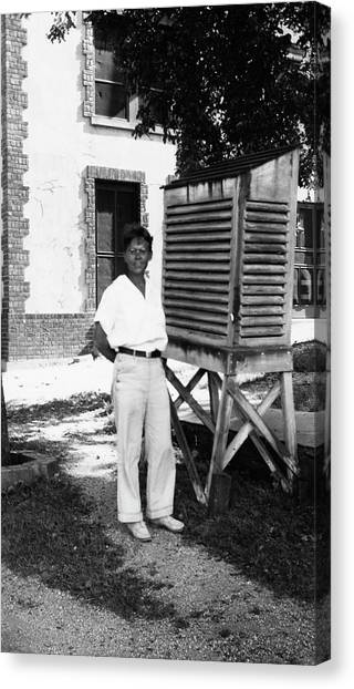 Conference Usa Canvas Print - Barbara Mcclintock by American Philosophical Society