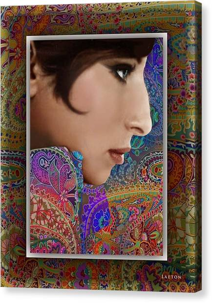 Barbra Canvas Print