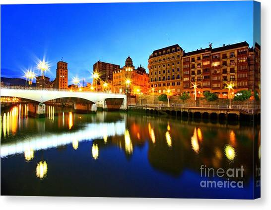 Bilbao 8 Canvas Print
