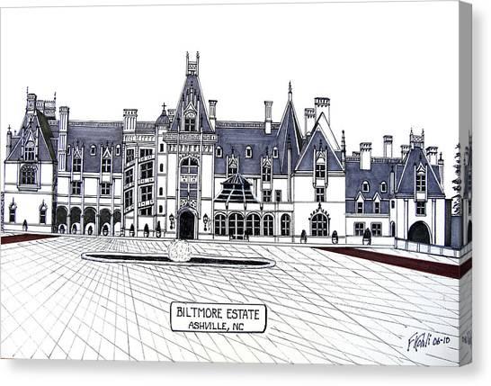 Biltmore Estate Canvas Print