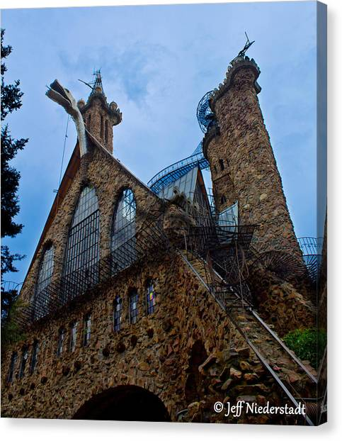Bishop's Castle Canvas Print