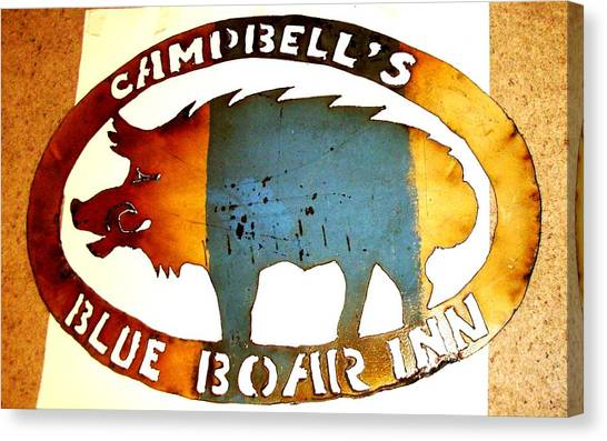 Blue Boar Inn Canvas Print