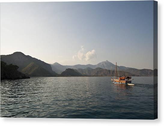 Boat Trip Canvas Print