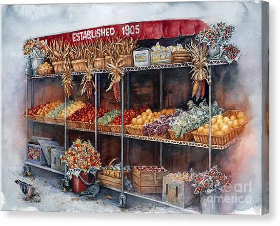 Boston Market Canvas Print