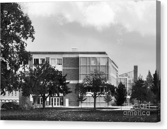 Normal Canvas Print - Bowling Green State University Bowen- Thompson Student Union by University Icons