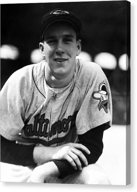Baltimore Orioles Canvas Print - Brooks Robinson by Retro Images Archive
