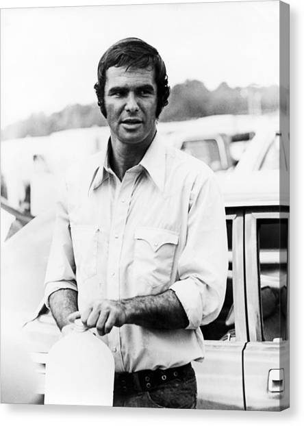 Burt Reynolds Canvas Print - Burt Reynolds by Silver Screen