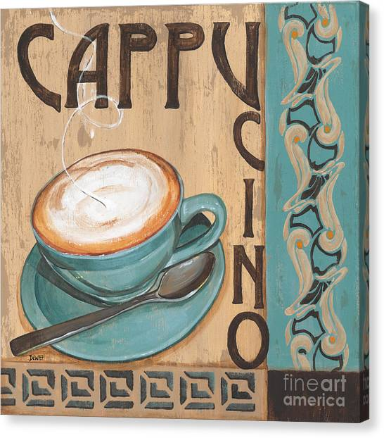 Bistros Canvas Print - Cafe Nouveau 1 by Debbie DeWitt