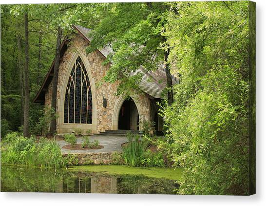 Callaway Gardens Chapel - Pine Mountain Georgia Canvas Print
