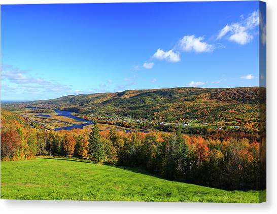Canada, Nova Scotia, Cape Breton, Cabot Canvas Print by Patrick J. Wall