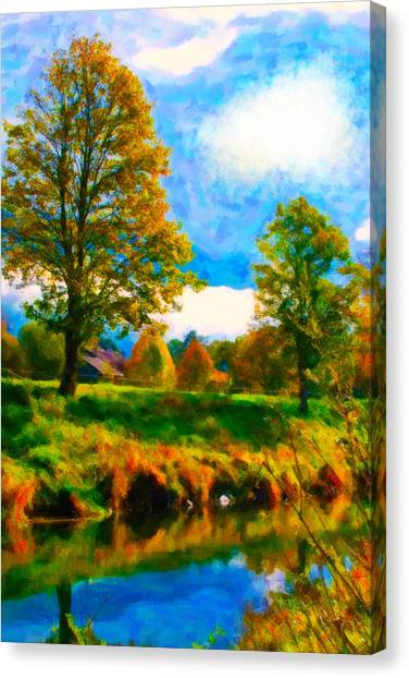 Canal 2 Canvas Print