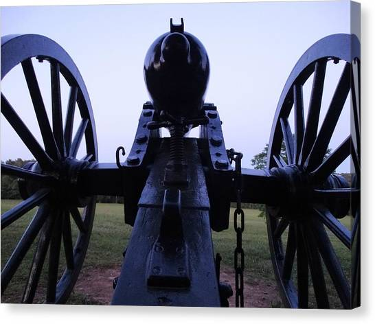 Cannon Canvas Print by William Watts