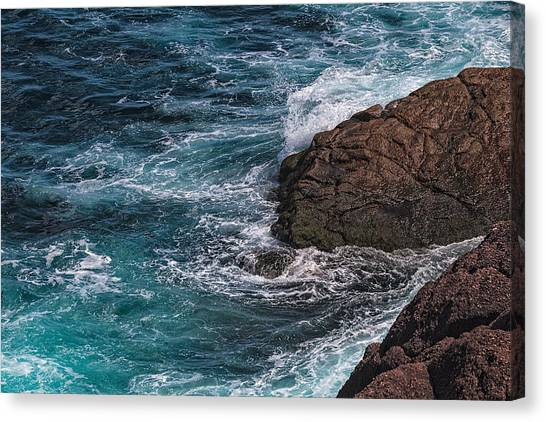 Canvas Print featuring the photograph Cape Spear by Perla Copernik