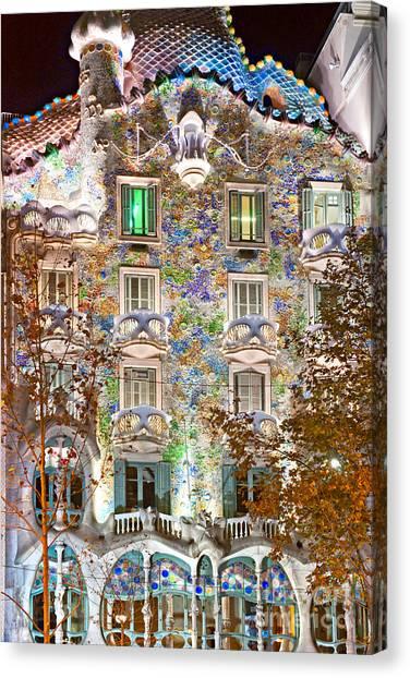 Casa Batllo - Barcelona Canvas Print