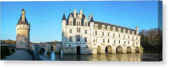 Chenonceau Castle Canvas Print - Castle Over A River, Chateau De by Panoramic Images