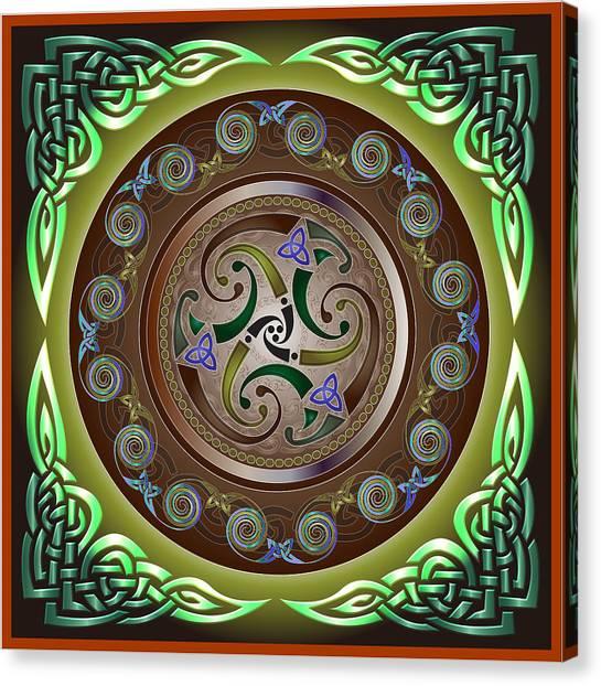 Celtic Pattern Canvas Print