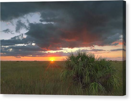 Chekili Sunset Canvas Print