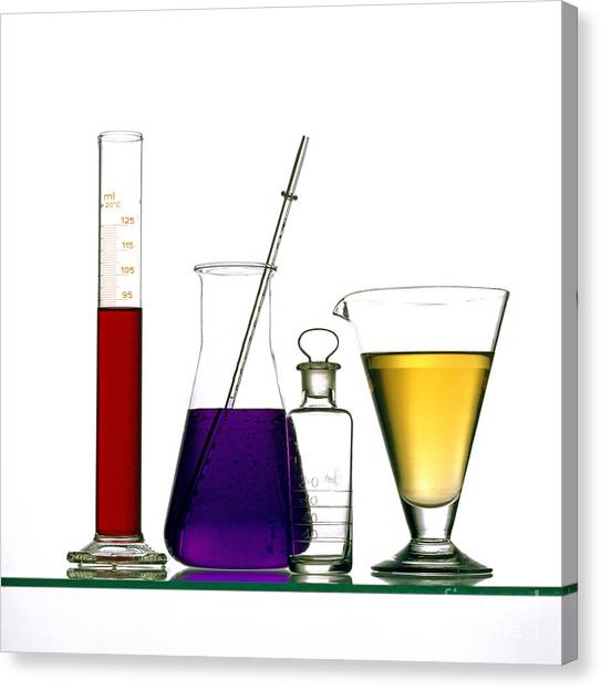 Health Care Canvas Print - Chemistry by Bernard Jaubert
