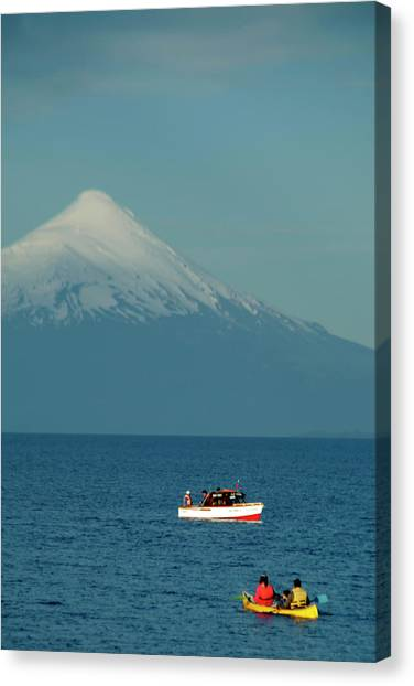 Chile, Puerto Varas Canvas Print by Kymri Wilt