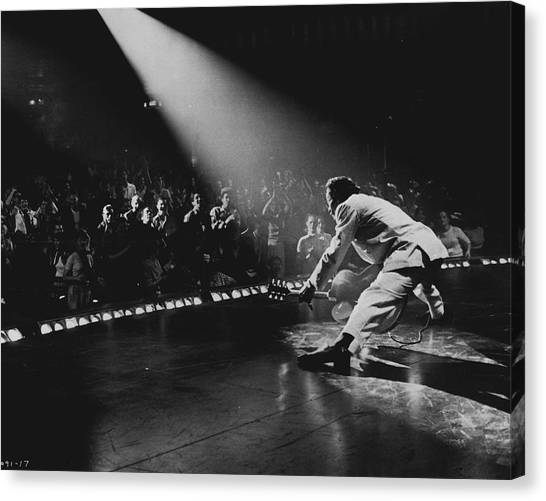 Multi Canvas Print - Chuck Berry by Retro Images Archive