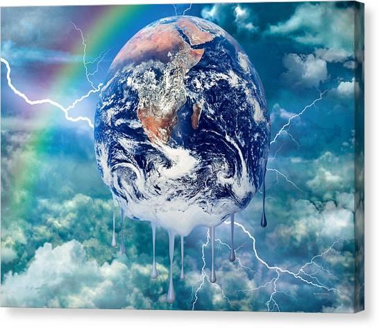 Climate Change Canvas Print