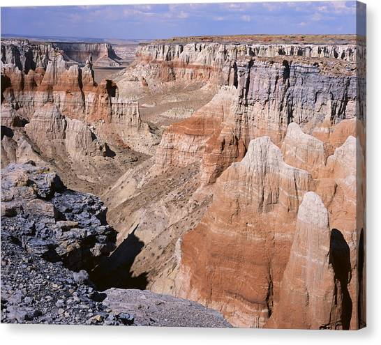 Coal Mine Canyon 1 Canvas Print
