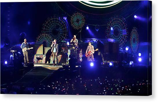 Coldplay - Sydney 2012 Canvas Print