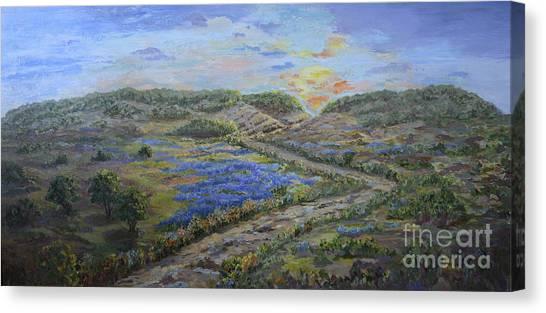 Comanche Peak Canvas Print