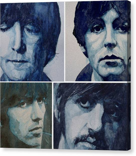 Paul Mccartney Canvas Print - Come Together by Paul Lovering