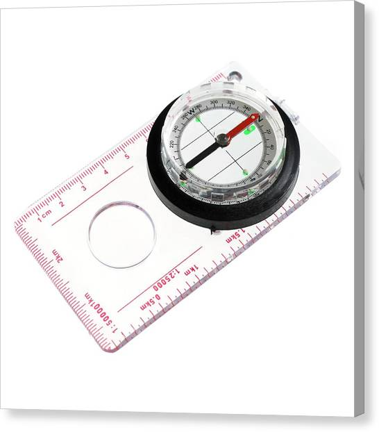 One Direction Canvas Print - Compass by Science Photo Library