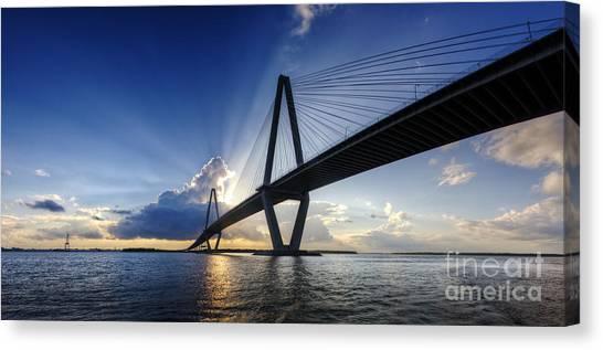 Cooper River Bridge Charleston Sc Canvas Print