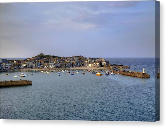 St Ives Canvas Print - Cornwall - St Ives by Joana Kruse