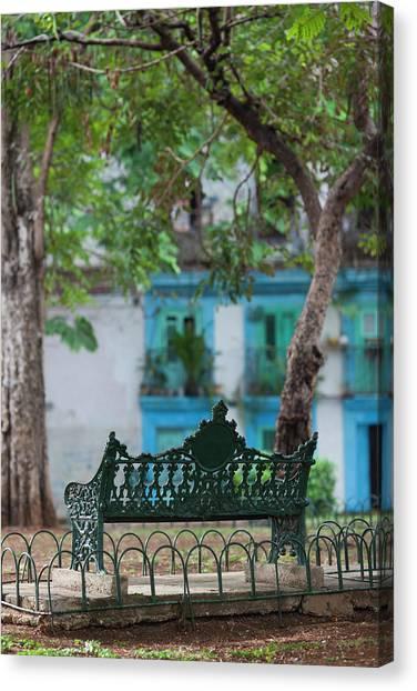 Cuba Canvas Print - Cuba, Havana, Havana Vieja, Old Havana by Walter Bibikow