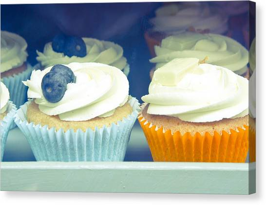 Cupcake Canvas Print - Cupcakes by Tom Gowanlock