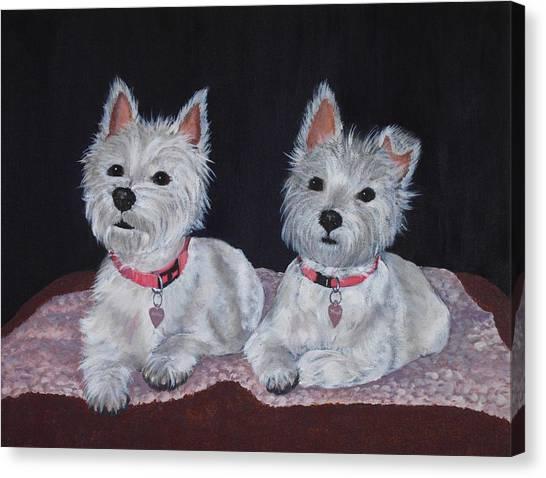 2 Cute Canvas Print
