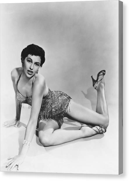 Charisse Canvas Print - Cyd Charisse by Silver Screen