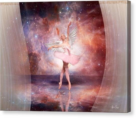 Dancing In The Spirit Canvas Print