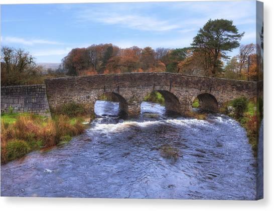 Moorland Canvas Print - Dartmoor - Postbridge by Joana Kruse