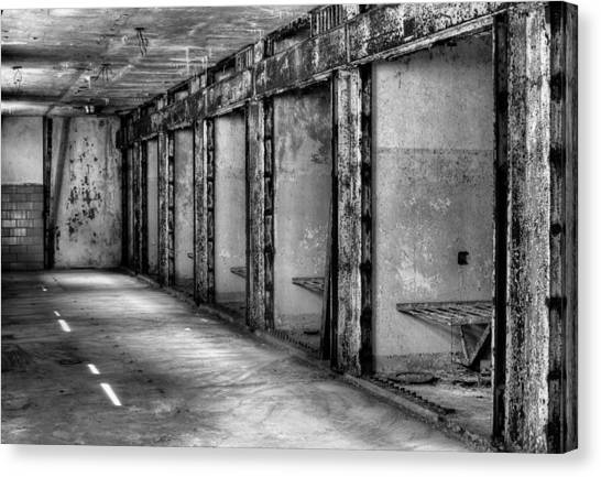 Philidelphia Canvas Print - Death Row by JC Findley
