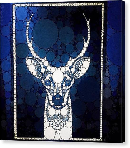 Large Mammals Canvas Print - Deerhurst by Natasha Marco
