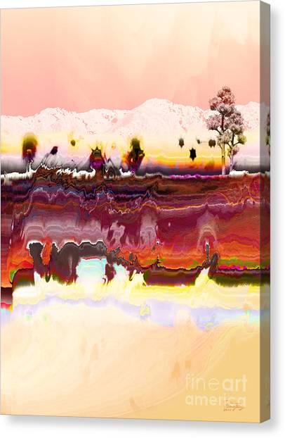 Desert Impression Canvas Print