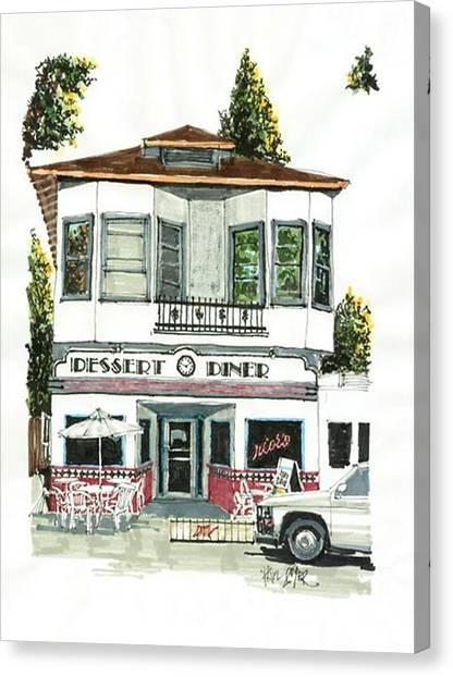 Dessert Diner Canvas Print by Paul Guyer